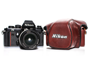 NIKON F3 35mm SLR Film Camera W/ Nikkor 28mm f3.5 Lens or Body Only