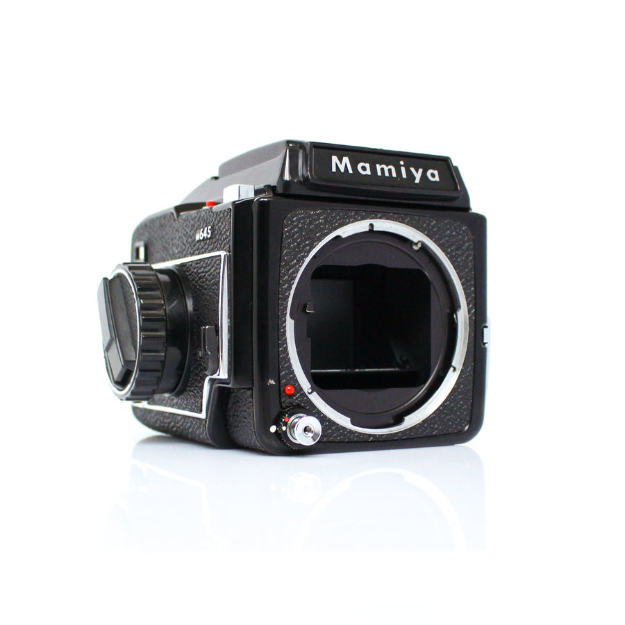 MAMIYA M645 Medium Format SLR Film Camera W/ Mamiya-Sekor C 55mm f/2.8