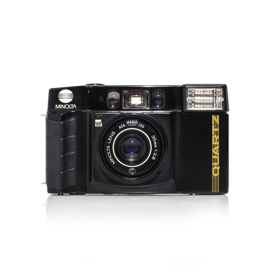 MINOLTA AF-S Quartz Date 35mm f/2.8 Point and Shoot Film Camera Beginning Film Shop Beginningfilm.shop