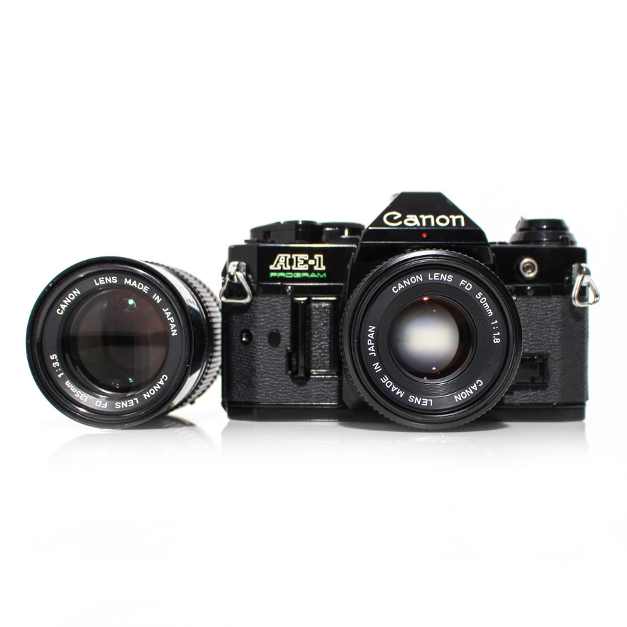 CANON AE-1 PROGRAM BEGINNING FILM SHOP FILM CAMERAS SLR