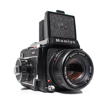 MAMIYA M645 Medium Format SLR Film Camera W/ Mamiya-Sekor C 80mm f/2.8 Lens