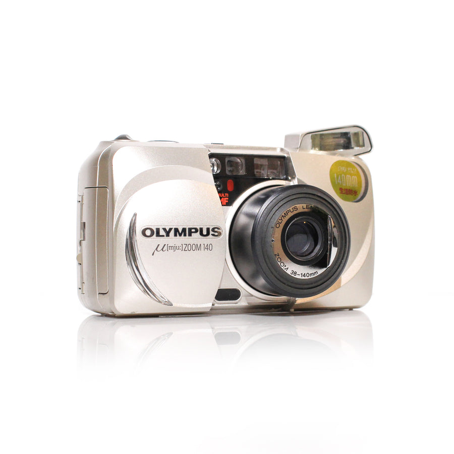 OLYMPUS µ[Mju:] Stylus Zoom 140 38-140mm Point and Shoot Film Camera