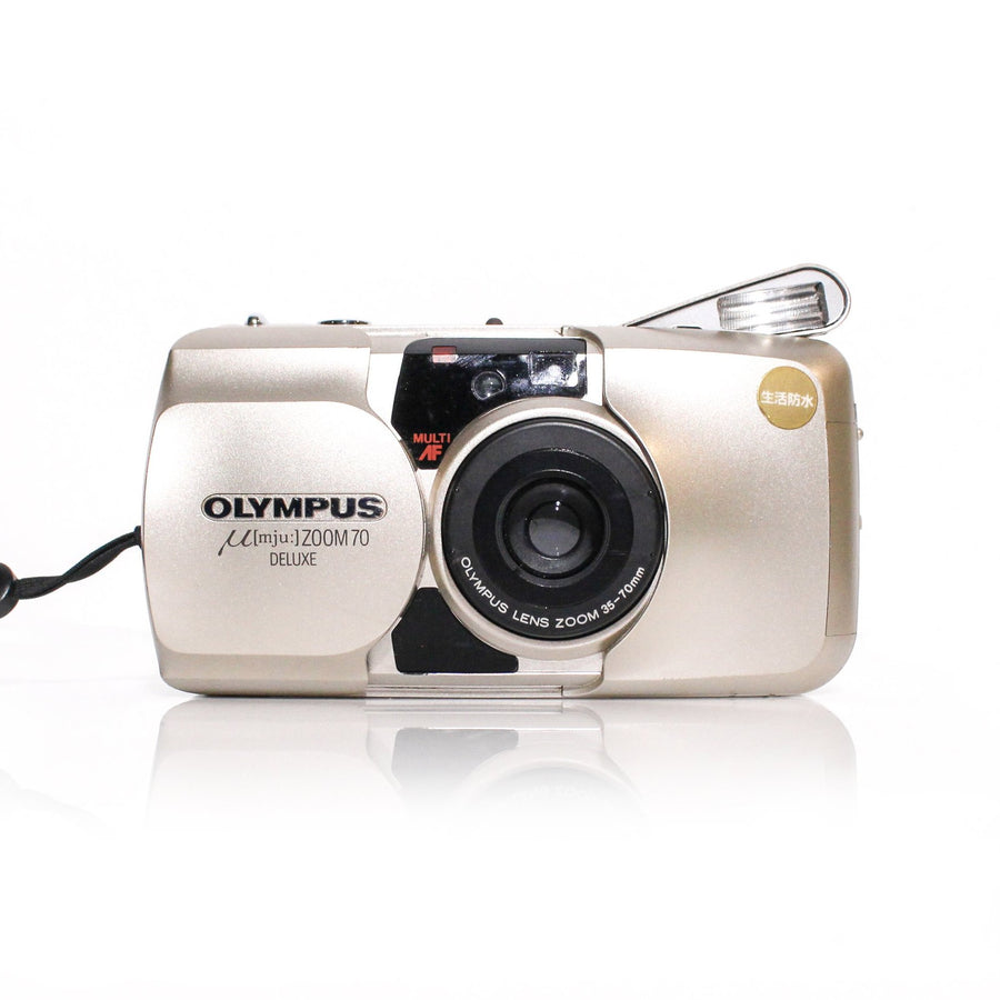 OLYMPUS µ[Mju:] Stylus Zoom 70 Deluxe 35-70mm Point and Shoot Film Camera
