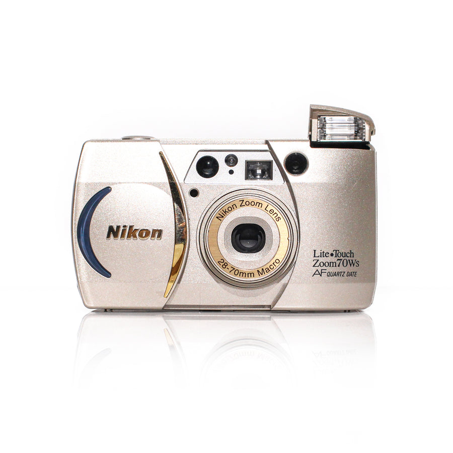 NIKON Lite Touch Zoom 70WS 28-70mm Point and Shoot Film Camera