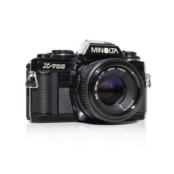 MINOLTA X-700 35mm SLR Film Camera W/ MD 50mm f1.7 Lens