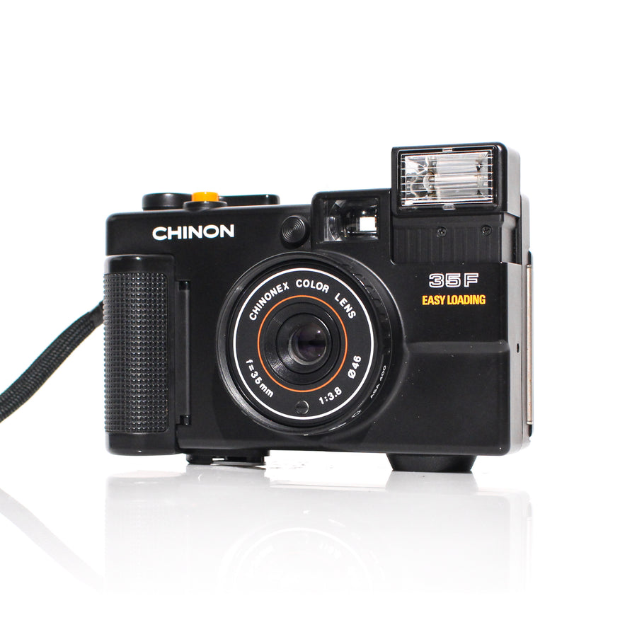 CHINON 35F Easy Loading 35mm f3.5 Point and Shoot Film Camera