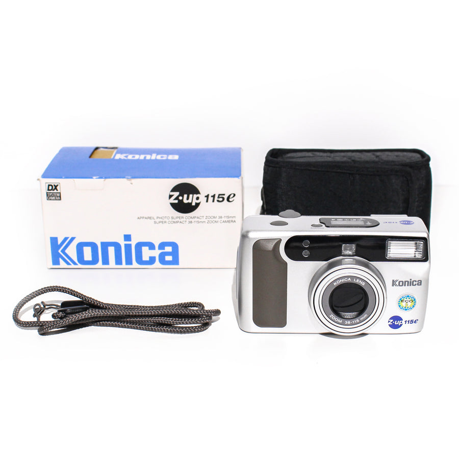 KONICA Z-Up 115e 38-115mm Point and Shoot Film Camera