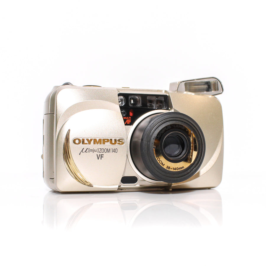 OLYMPUS µ[Mju:] Stylus Zoom 140 VF 38-140mm Point and Shoot Film Camera #4139418