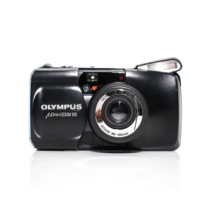 OLYMPUS µ[Mju:] Stylus Zoom 105 38-140mm Point and Shoot Film Camera [Black]