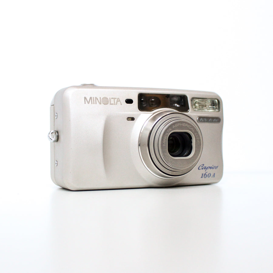 MINOLTA Capios 160A w/Advanced-AF Point and Shoot 35mm Film Camera
