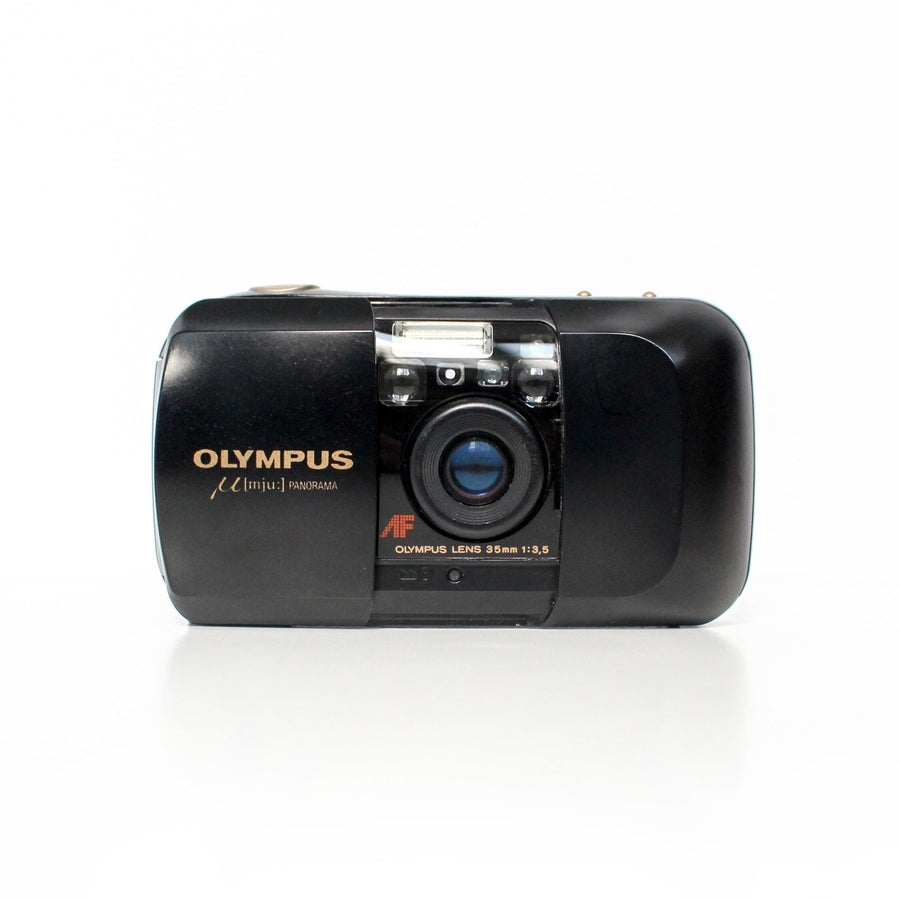 OLYMPUS µ[Mju:]-1 Infinity Stylus f/3.5 35mm Point and Shoot Film Camera