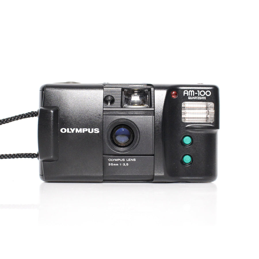 OLYMPUS AM-100 Point and Shoot 35mm Film Camera