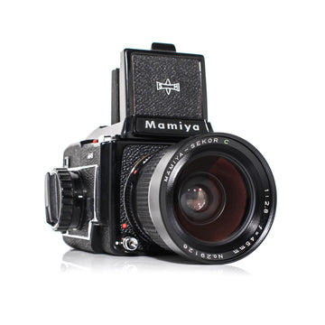 MAMIYA M645 Medium Format Kit W/ Mamiya-Sekor C 150mm f/4 + 45mm f2.8 Lens