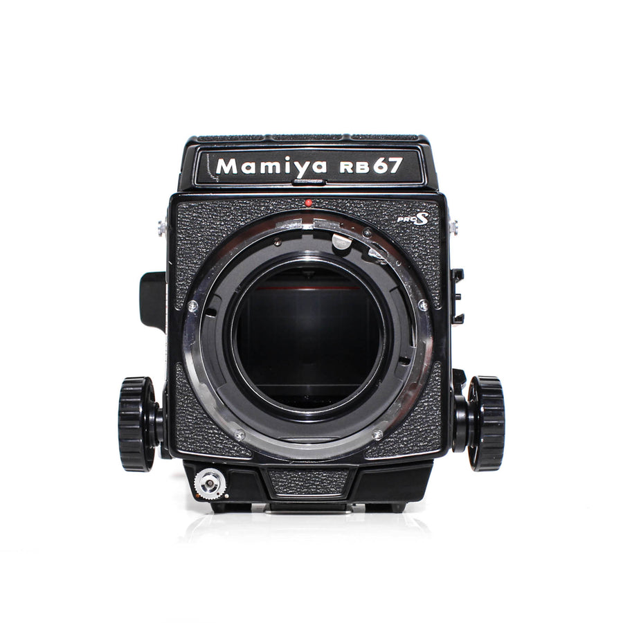 MAMIYA RB67 Pro-S Medium Format Film Camera Kit W/ Mamiya Sekor-C 90mm f3.8 Lens