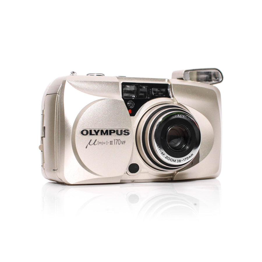 OLYMPUS µ[Mju:]-II Stylus Epic 170 VF Point and Shoot Film Camera #4180835