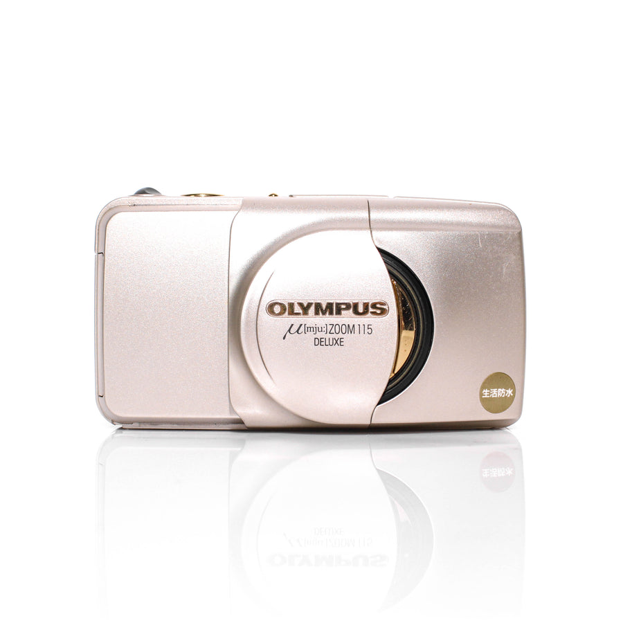 OLYMPUS µ[Mju:] Stylus Zoom 115 Deluxe 38-115mm Point and Shoot Film Camera