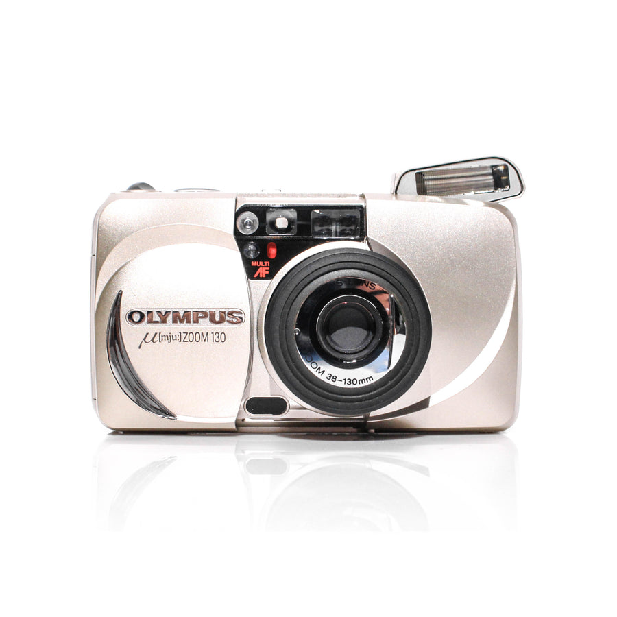OLYMPUS µ[Mju:] Zoom 130 38-130mm Point and Shoot Film Camera