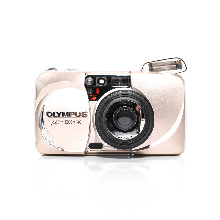 OLYMPUS µ[Mju:] Stylus Zoom 140 Point and Shoot Film Camera #5168235