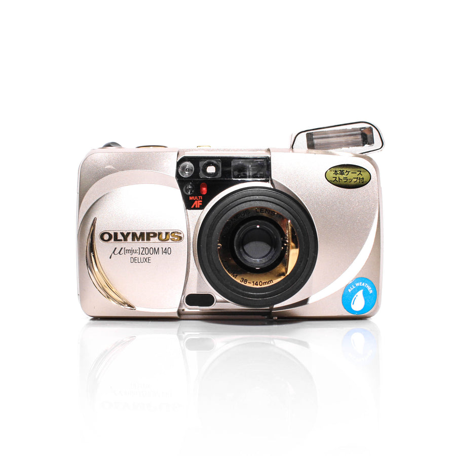OLYMPUS µ[Mju:] Stylus Zoom 140 DLX Point and Shoot Film Camera