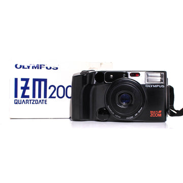 OLYMPUS IZM200 Zoom Point and Shoot 35mm Film Camera