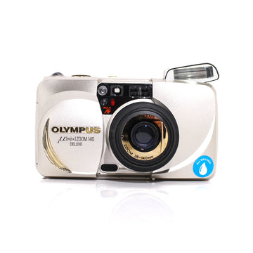 OLYMPUS µ[Mju:] Stylus Zoom 140 DLX Point and Shoot 35mm Film Camera