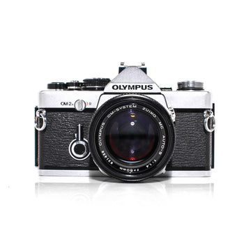 OLYMPUS OM-2n SLR 35mm Film Camera W/ OM-System Zuiko MC 50mm f1.4 Lens