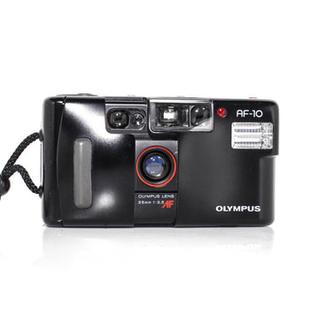 OLYMPUS AF-10 Point and Shoot 35mm Film Camera