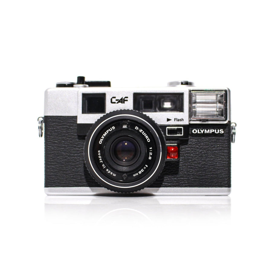 OLYMPUS C-AF W/D.Zuiko 38mm f/2.8 Lens Point and Shoot 35mm Film Camera