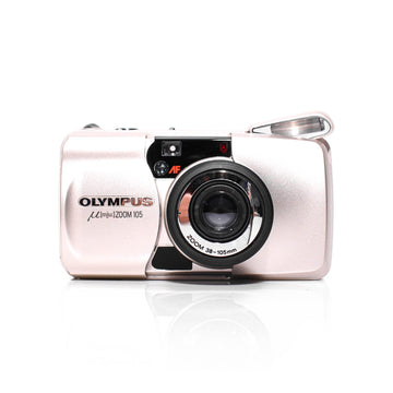 OLYMPUS µ[Mju:] Stylus Zoom 105 Point and Shoot Film Camera #1539648