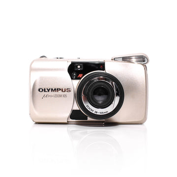 OLYMPUS µ[Mju:] Stylus Zoom 105 Point and Shoot Film Camera #1037598