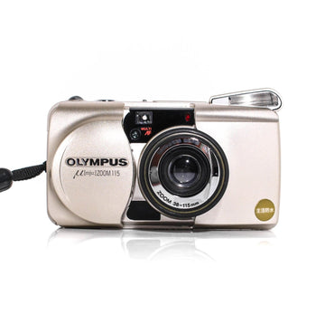 OLYMPUS µ[Mju:] Stylus Zoom 115 Point and Shoot 35mm Film Camera