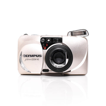 OLYMPUS µ[Mju:] Stylus Zoom 140 Point and Shoot Film Camera #5334481
