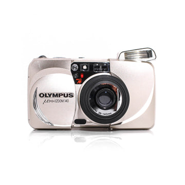 OLYMPUS µ[Mju:] Stylus Zoom 140 Point and Shoot 35mm Film Camera