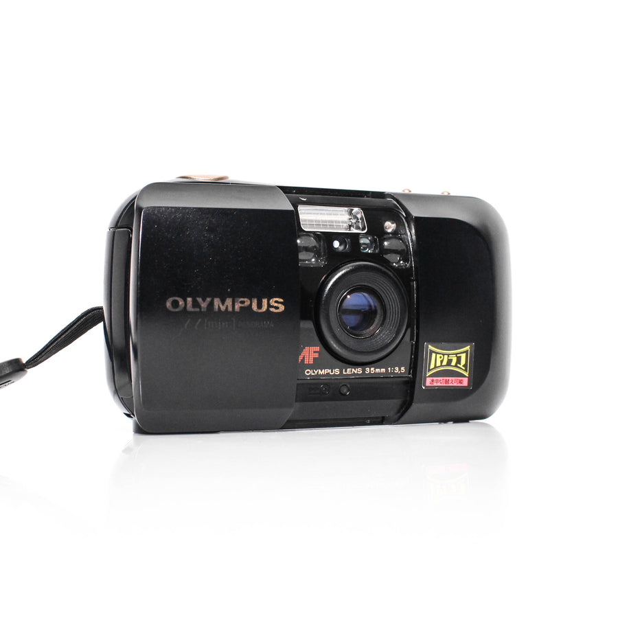 OLYMPUS µ[Mju:]-1 Infinity Stylus f/3.5 35mm Point and Shoot Film Camera #8987