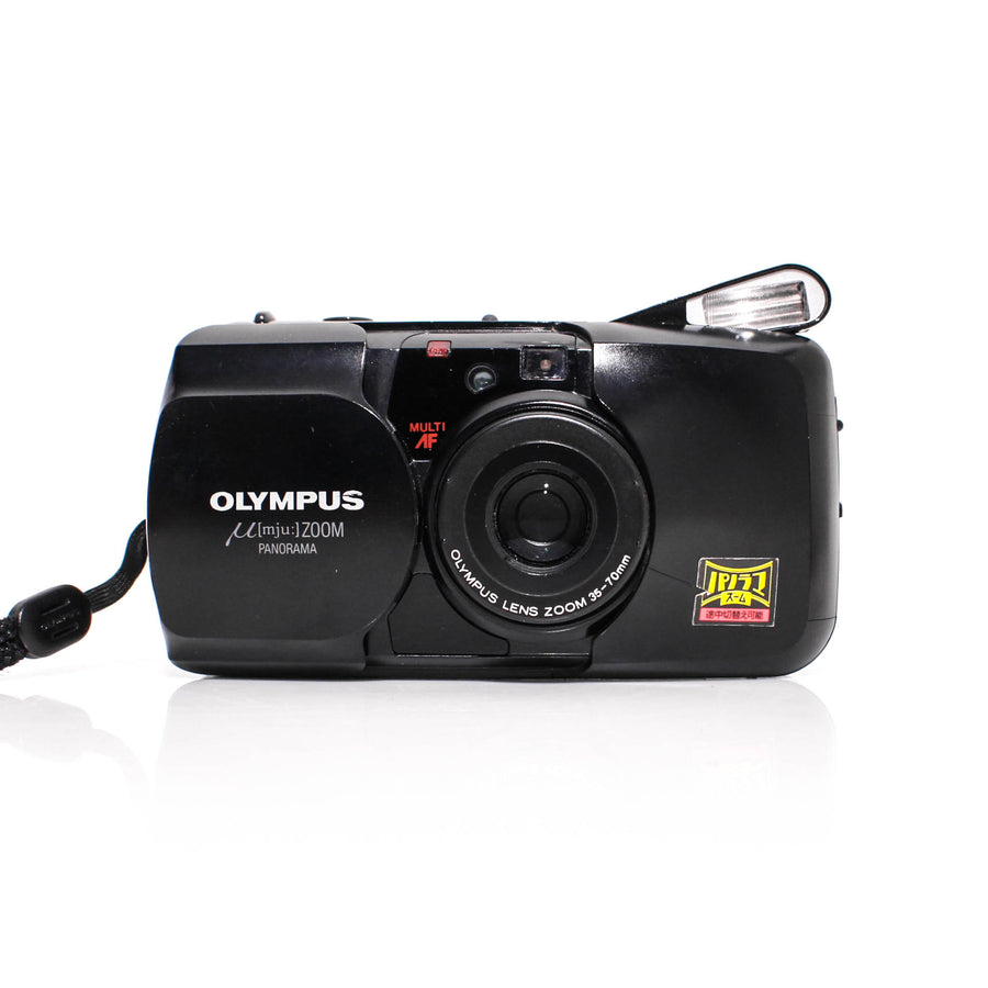 OLYMPUS µ[Mju:] Stylus Zoom 35-70mm Point and Shoot Film Camera [Black]