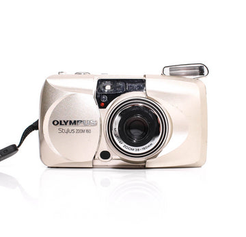 OLYMPUS µ[Mju:] Stylus Zoom 160 Point and Shoot Film Camera #4251320