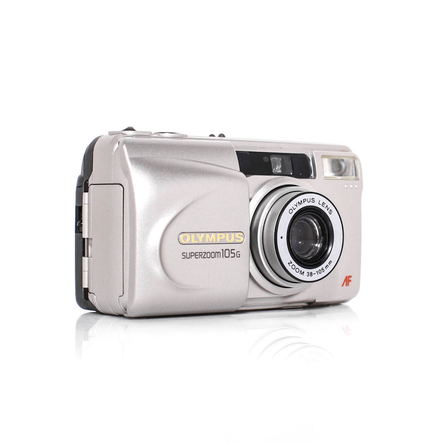 OLYMPUS Superzoom 105G Point and Shoot 35mm Film Camera