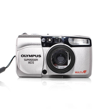 OLYMPUS Superzoom 140S Point and Shoot 35mm Film Camera