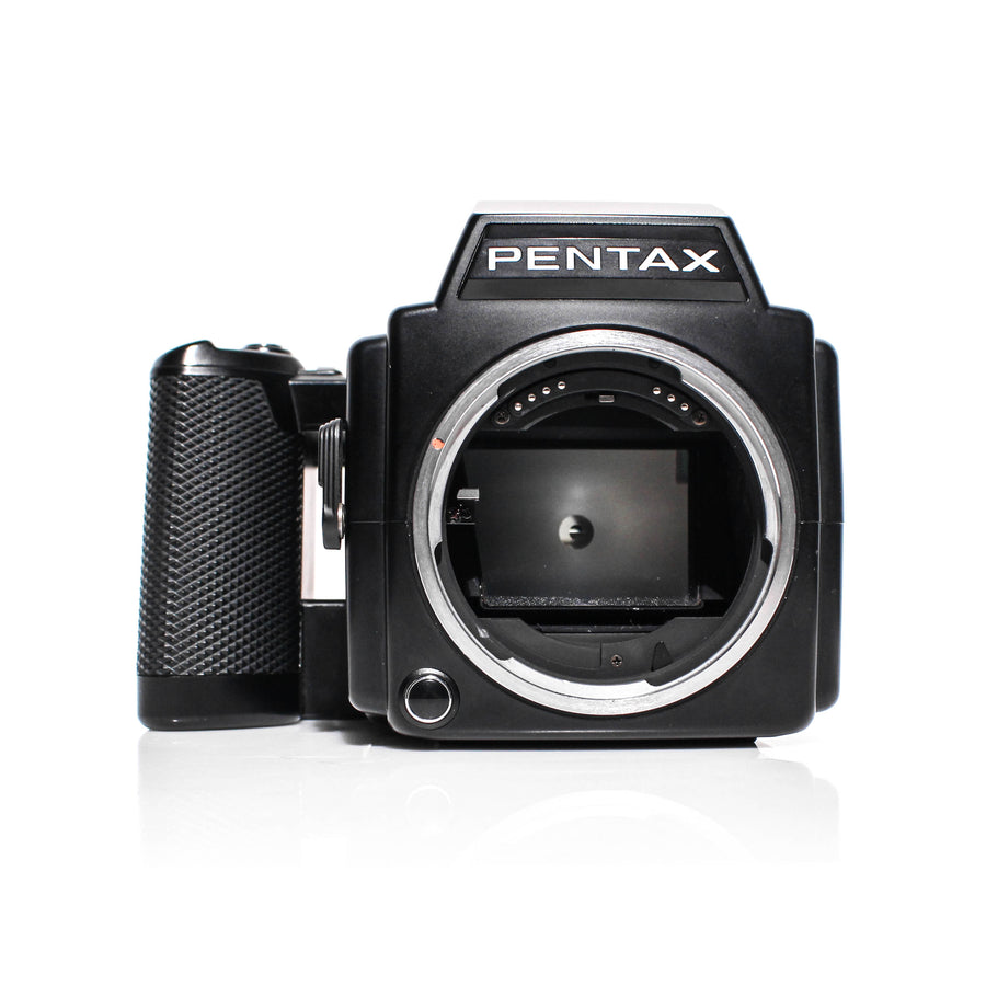 PENTAX 645 Medium Format Camera W/ Pentax-A Zoom 45-85mm