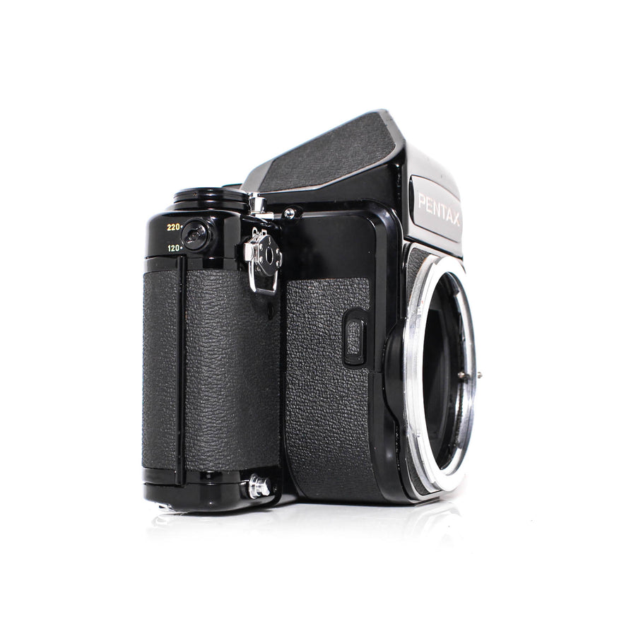 PENTAX 6x7 Medium Format Mirror Lock-Up SLR W/ SMC Pentax 67 55mm F3.5 Lens