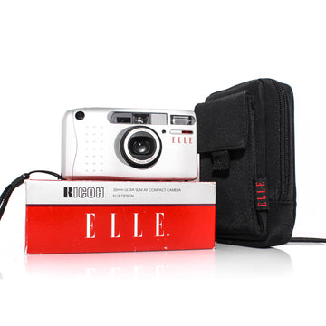 RICOH ELLE R10 Point and Shoot 35mm Film Camera [With Box]