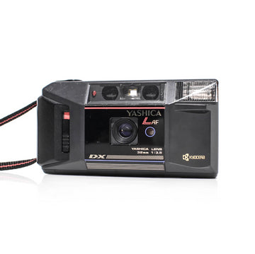 YASHICA L AF 32mm F3.5 Date Point and Shoot Film Camera