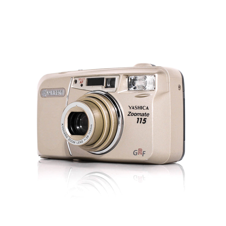 YASHICA Zoomate 115 Point and Shoot 35mm Film Camera