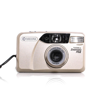 YASHICA Zoomate 70Z Point and Shoot 35mm Film Camera