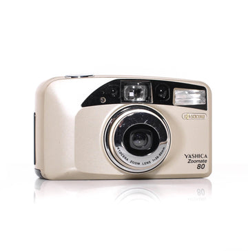 YASHICA Zoomate 80 38-80mm Point and Shoot Film Camera