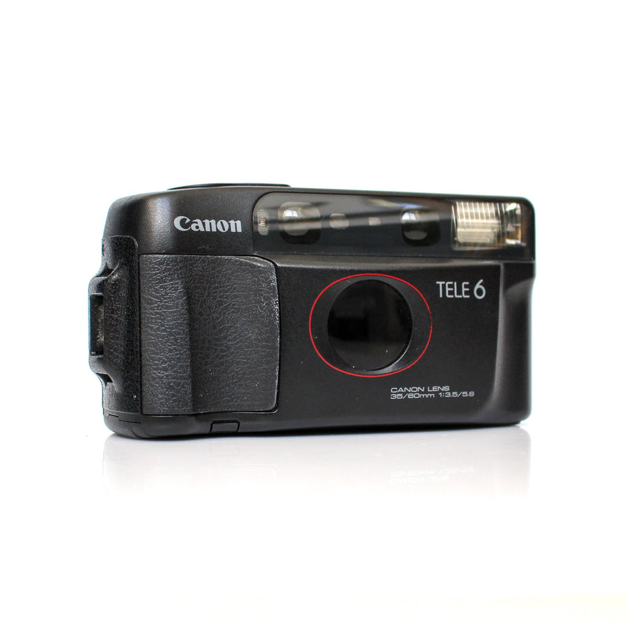 CANON Tele 6/Sure Shot Multi Tele 35 mm f/3,5 and 60 mm f/5,6 Half Frame Point and Shoot Film Camera
