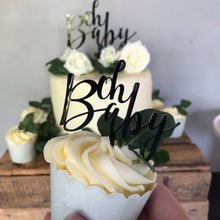 Load billede ind i Gallery viewer, Cupcaketoppers - Oh Baby /5 styks