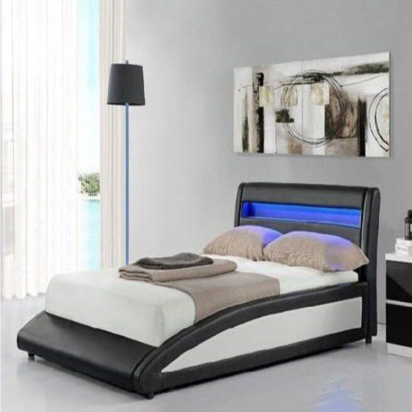 Mevanti Moto Bed - Cheap Wooden Bed Frames Surrey - Mevanti Furniture