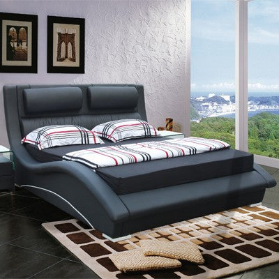 Rhinestone Tufted Bed