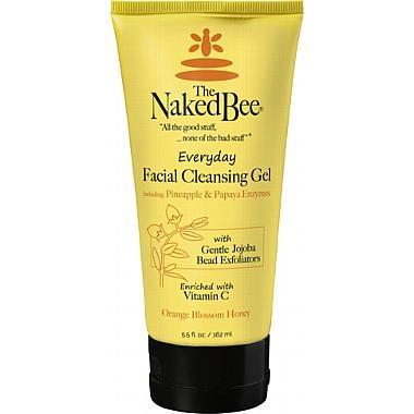 Naked Bee Everyday Facial Cleanser (5.5 oz) - Orange Blossom Scent - The Soap Opera Company